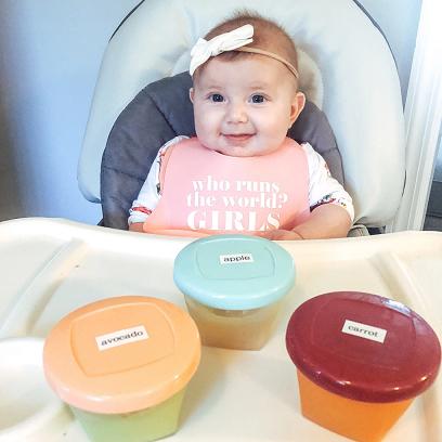 Emma's First Food
